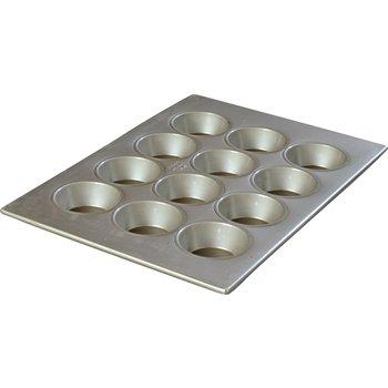 601834 - Steeluminum® 12 Cup Large Cup Cupcake Pan 4 oz