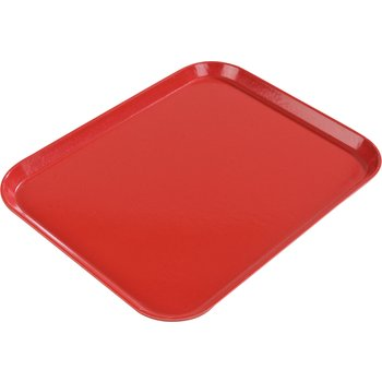 "2216FGQ017 - Glasteel™ Tray 12.1"" x 16"" - Red"