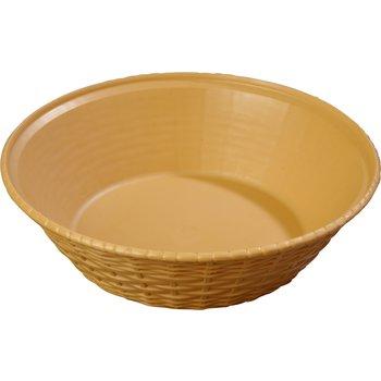 652467 - WeaveWear™ Round Basket 1.6 qt - Straw