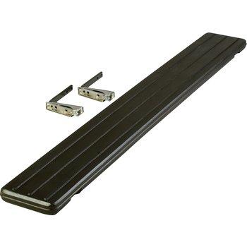 662103 - Six Star™ Food Bar Tray Slide 6' - Black