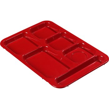 614R05 - Right-Hand Compartment Tray - Red