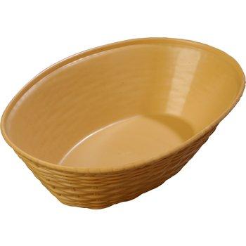 650467 - WeaveWear™ Oval Basket 1.1 qt - Straw