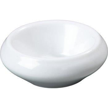 085502 - Melamine Smooth Rounded Ramekin 1 oz - White
