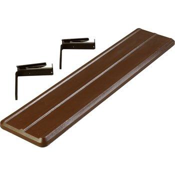662001 - Six Star™ Food Bar Tray Slide 4' - Brown