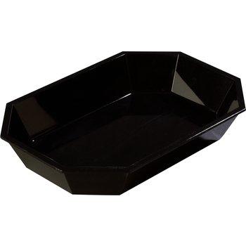 "672303 - 2.5 lb Low Profile Crock 10-1/2"" x 7"" - Black"
