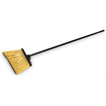 """3688500 - Duo-Sweep® Unflagged Heavy Duty Angle Broom 12"""" with 48"""" Metal Handle"""