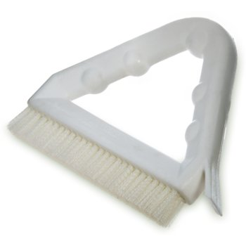 "4132302 - Spectrum® Tile & Grout Brush With Nylon Bristles 9"" - White"