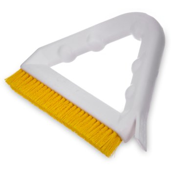 "4132304 - Spectrum® Tile & Grout Brush With Nylon Bristles 9"" - Yellow"
