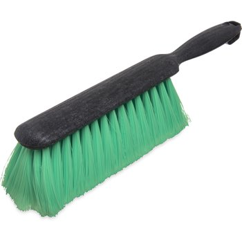 "3684676 - Flo-Pac® Counter/Bench Brush With Nylex Bristles 8"" - Green"