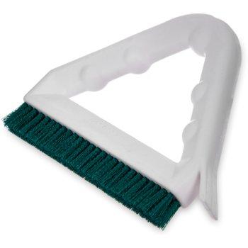 "4132309 - Spectrum® Tile & Grout Brush With Nylon Bristles 9"" - Green"