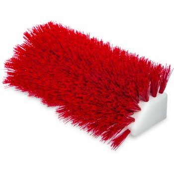 "4042305 - Sparta® Hi-Lo™ Floor Scrub Brush 10"" - Red"