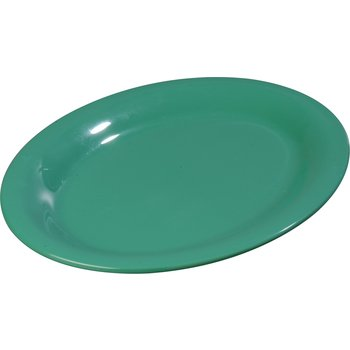 "3308609 - Sierrus™ Melamine Oval Platter Tray 9.5"" x 7.25"" - Meadow Green"
