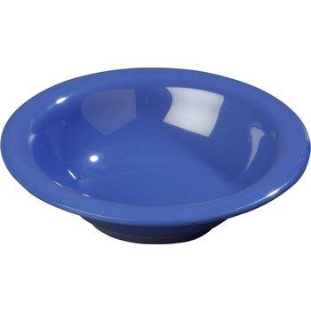4303614 - Durus® Melamine Rimmed Bowl 12 oz - Ocean Blue