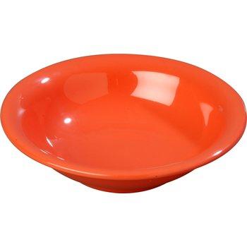 3303252 - Sierrus™ Melamine Rimmed Bowl 16 oz - Sunset Orange