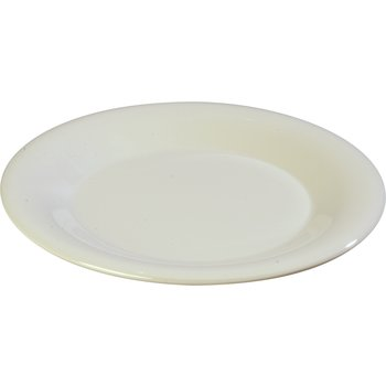 "3301042 - Sierrus™ Melamine Wide Rim Dinner Plate 10.5"" - Bone"