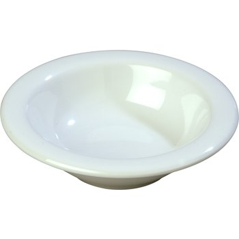 4304202 - Durus® Melamine Rimmed Fruit Bowl 4.5 oz - White