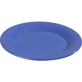 "3302014 - Sierrus™ Melamine Wide Rim Bread And Butter Plate 5.5"" - Ocean Blue"