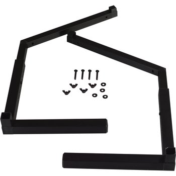 994803 - Adjustable Sneeze Guard Legs Singled-Sided - Black