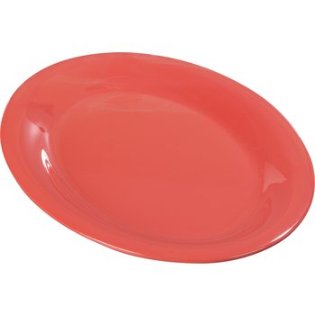 "3308252 - Sierrus™ Melamine Oval Platter Tray 12"" x 9"" - Sunset Orange"