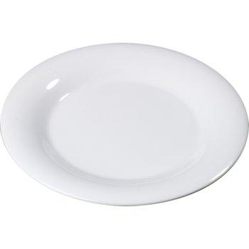 """4301002 - Durus® Melamine Dinner Plate Wide Rim 10.5"""" - White"""