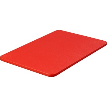 "1088205 - Spectrum® Color Cutting Board 12"" x 18"" x 0.5"" - Red"