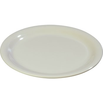 "3300442 - Sierrus™ Melamine Narrow Rim Dinner Plate 9"" - Bone"