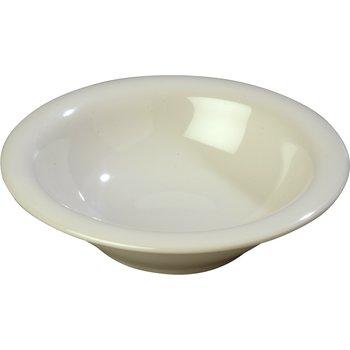 4303642 - Durus® Melamine Rimmed Bowl 12 oz - Bone
