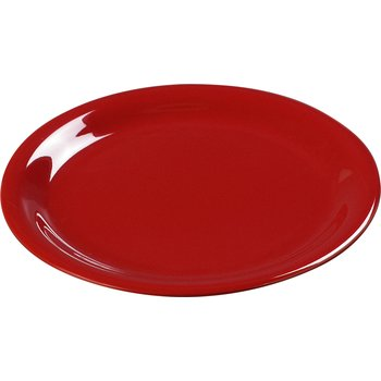 "3300405 - Sierrus™ Melamine Narrow Rim Dinner Plate 9"" - Red"