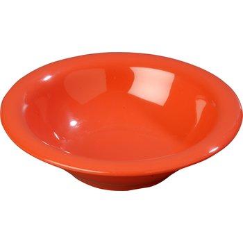 3303652 - Sierrus™ Melamine Rimmed Bowl 12 oz - Sunset Orange