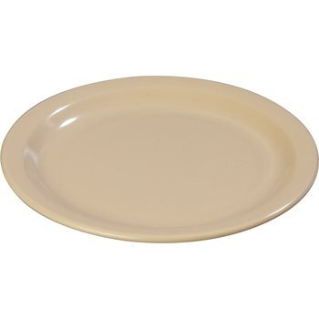 "43502-825 - Dallas Ware® Melamine Luncheon Plate 8"" - Cash & Carry (12/st) - Tan"