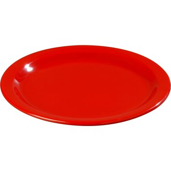 "4350105 - Dallas Ware® Melamine Dinner Plate 9"" - Red"