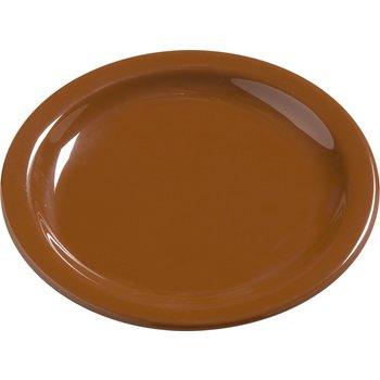 """4385443 - Dayton™ Melamine Salad Plate 7.25"""" - Toffee"""