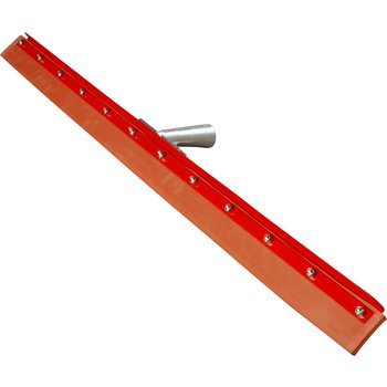4007700 - Flo-Pac® Straight Red Gum Rubber Floor Squeegee With Heavy Duty Steel Frame 36""