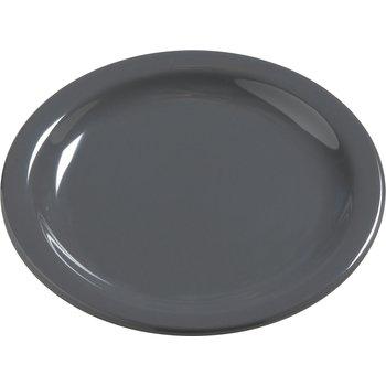 "4385440 - Dayton™ Melamine Salad Plate 7.25"" - Peppercorn"