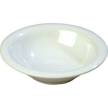 4303602 - Durus® Melamine Rimmed Bowl 12 oz - White