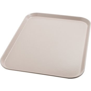 "DX1089I31 - Glasteel™ Flat Tray 14"" x 18"" (12/cs) - Latte"