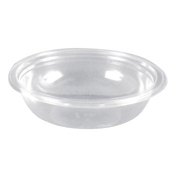 "DX5402PCLR - 7"" Round Salad Bowl 24oz - Clear"