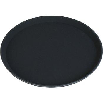 """TB1600004 - Truebasic Round Tray 16"""" - Black"""