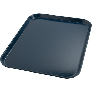 "DX1089I50 - Glasteel™ Flat Tray 14"" x 18"" (12/cs) - Dark Blue"
