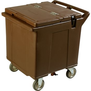 IC225001 - Cateraide™ Ice Caddy (2 Rigid Casters, 2 Swivel Casters) - Brown
