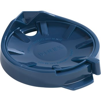 DX115650 - Beverage Server Replacement Lid (12/cs) - Midnight Blue