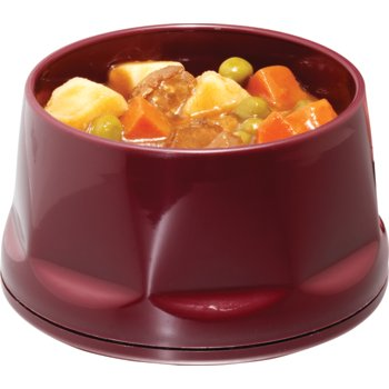 DX450061 - The Heritage Collection® Heritage Stackable Bowl, Insulated 12 oz. (48/cs) - Cranberry