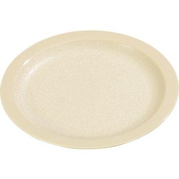 "PCD21025 - Polycarbonate Narrow Rim Plate 10"" - Tan"