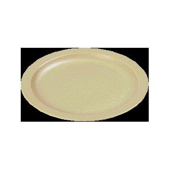 "PCD20725 - Polycarbonate Narrow Rim Plate 7.25"" - Tan"