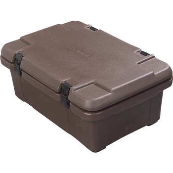 PC160N01 - Cateraide™ Single Pan Carrier 18Qt - Brown