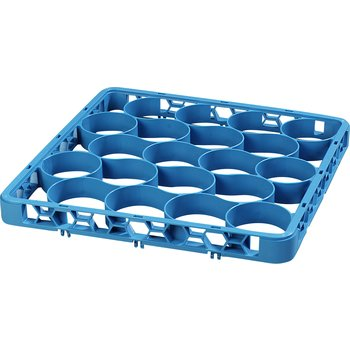 REW20S14 - OptiClean™ NeWave™ Short Glass Rack Extender 20 Compartment - Carlisle Blue