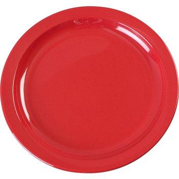 "KL20105 - Kingline™ Melamine Sandwich Plate 7.25"" - Red"