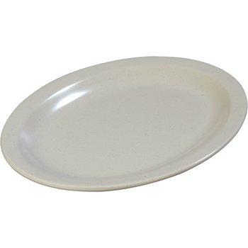 "KL12770 - Kingline™ Melamine Oval Platter Tray 12"" x 9"" - Adobe"