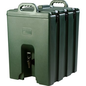 LD1000N08 - Cateraide™ LD Insulated Beverage Server 10 Gallon - Forest Green