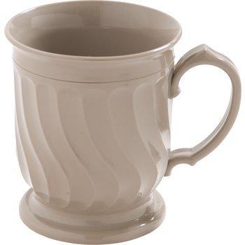 DX300031 - Turnbury® Insulated Pedestal Base Mug 8 oz (48/cs) - Latte